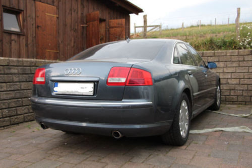 verkauft audi a8 4 2 quattro gebraucht 2004 km in mannheim. Black Bedroom Furniture Sets. Home Design Ideas