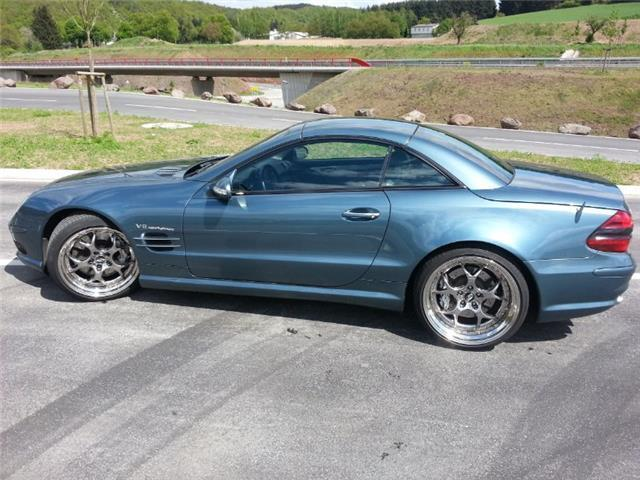 verkauft mercedes sl55 amg amg gebraucht 2002 km. Black Bedroom Furniture Sets. Home Design Ideas