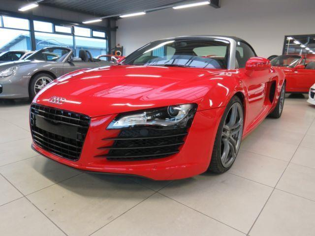 gebraucht 4 2 fsi quattro audi r8 spyder 2012 km. Black Bedroom Furniture Sets. Home Design Ideas