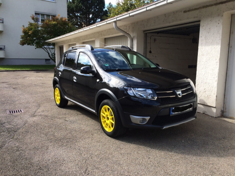 verkauft dacia sandero stepway tce 90 gebraucht 2014 km in ingolstadt. Black Bedroom Furniture Sets. Home Design Ideas