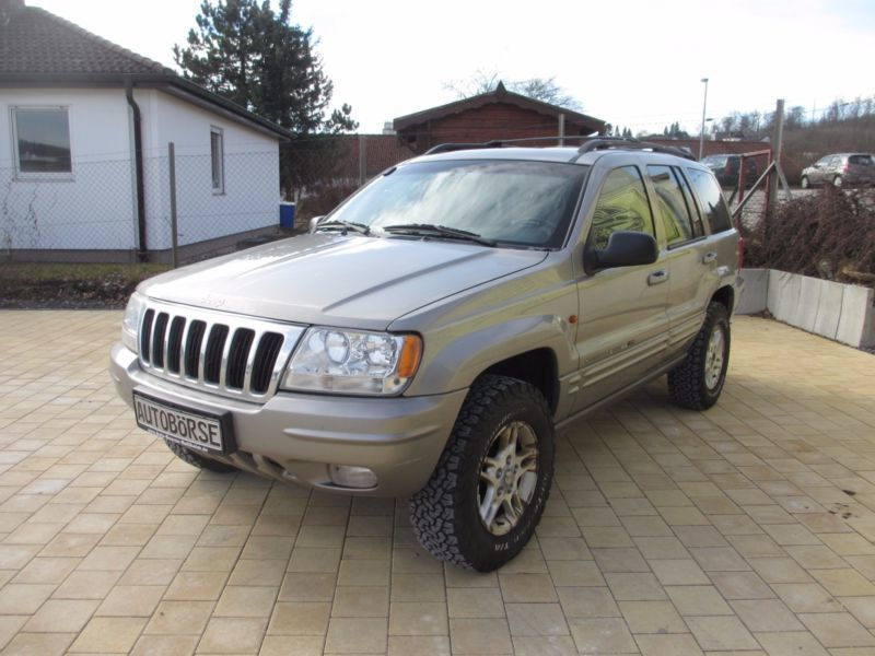 verkauft jeep grand cherokee 4 7 limit gebraucht 2000 km in nattheim. Black Bedroom Furniture Sets. Home Design Ideas