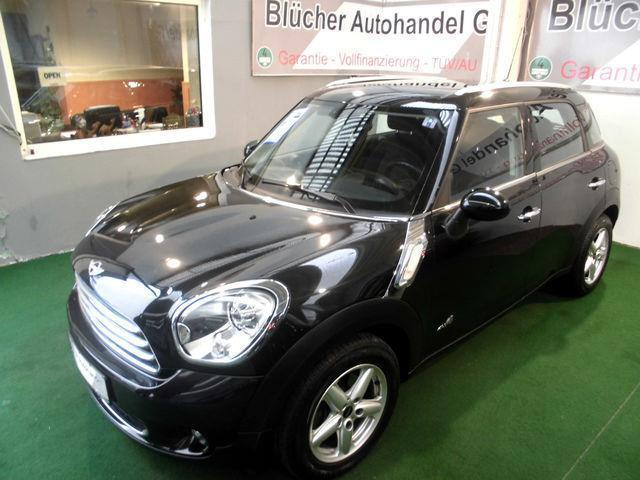 verkauft mini cooper d countryman all4 gebraucht 2010 65. Black Bedroom Furniture Sets. Home Design Ideas