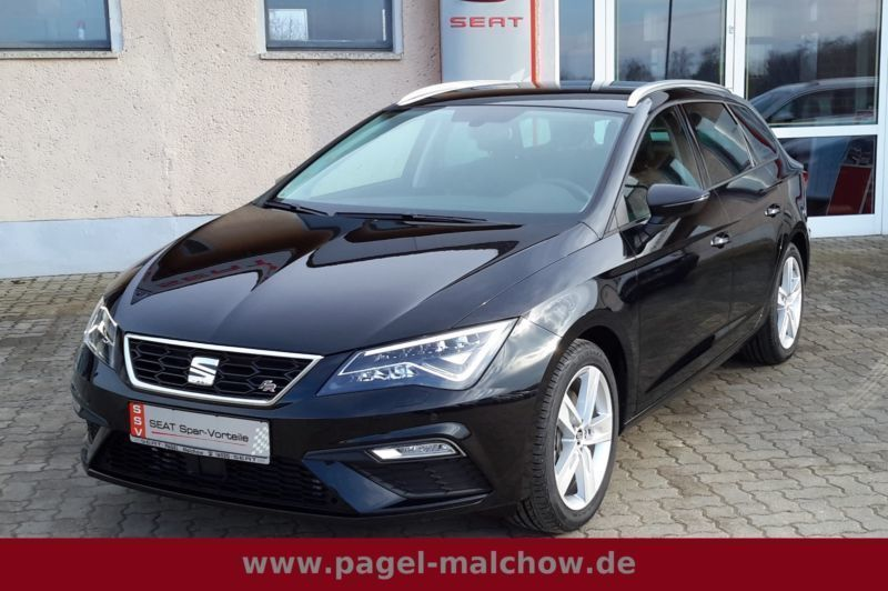 verkauft seat leon st fr facelift 1 8 gebraucht 2017. Black Bedroom Furniture Sets. Home Design Ideas