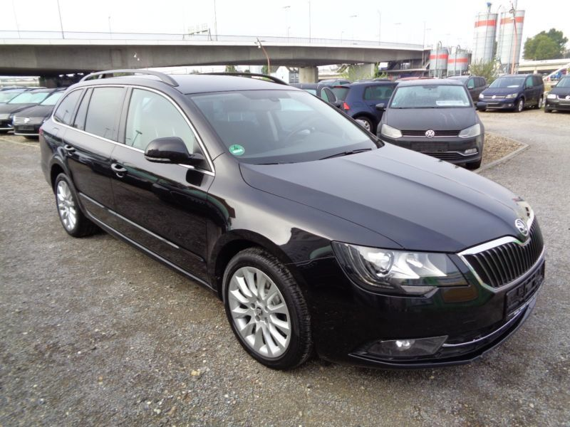 verkauft skoda superb combi 2 0 tdi ex gebraucht 2014 km in mannheim. Black Bedroom Furniture Sets. Home Design Ideas