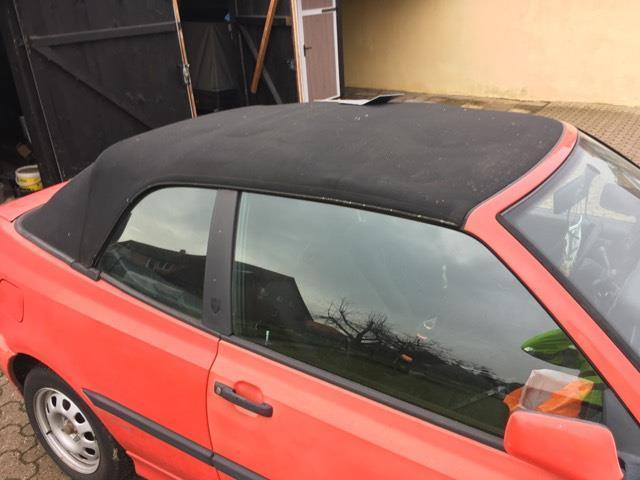 verkauft vw golf cabriolet cabrio 1 8 gebraucht 1995. Black Bedroom Furniture Sets. Home Design Ideas