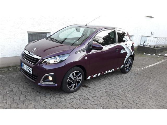 gebraucht puretech 82 allure peugeot 108 2014 km in bad pyrmont. Black Bedroom Furniture Sets. Home Design Ideas