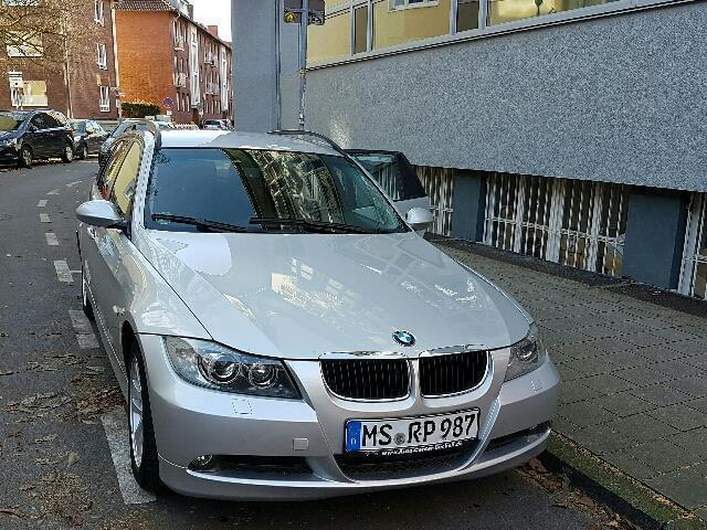 verkauft bmw 320 d touring gebraucht 2005 km in m nster centrum. Black Bedroom Furniture Sets. Home Design Ideas