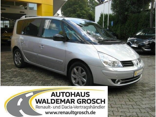 verkauft renault espace 2 0 dci 175 fa gebraucht 2011 km in coburg. Black Bedroom Furniture Sets. Home Design Ideas