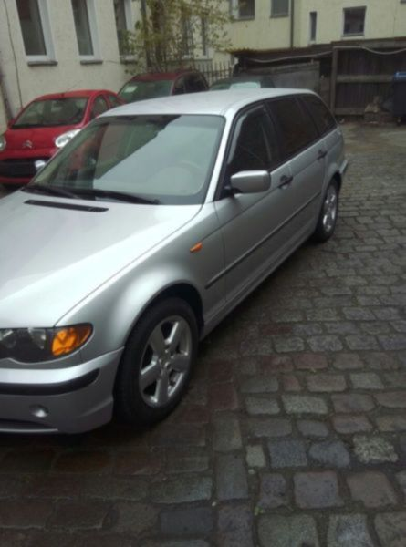 verkauft bmw 318 baureihe 3 touring d gebraucht 2004 km in berlin. Black Bedroom Furniture Sets. Home Design Ideas