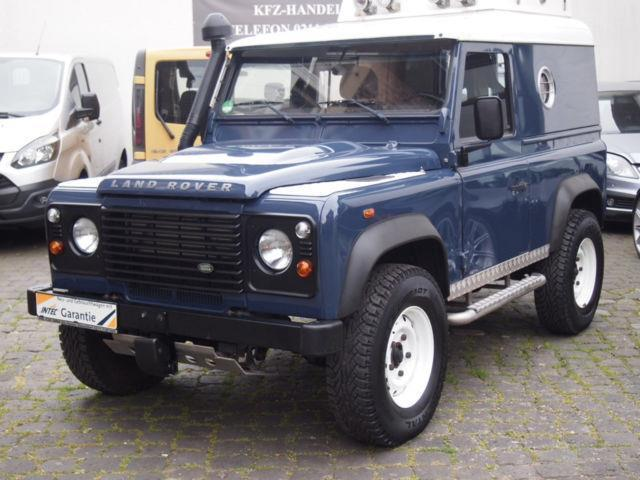verkauft land rover defender 90 td4 ht gebraucht 2011 km in d sseldorf. Black Bedroom Furniture Sets. Home Design Ideas