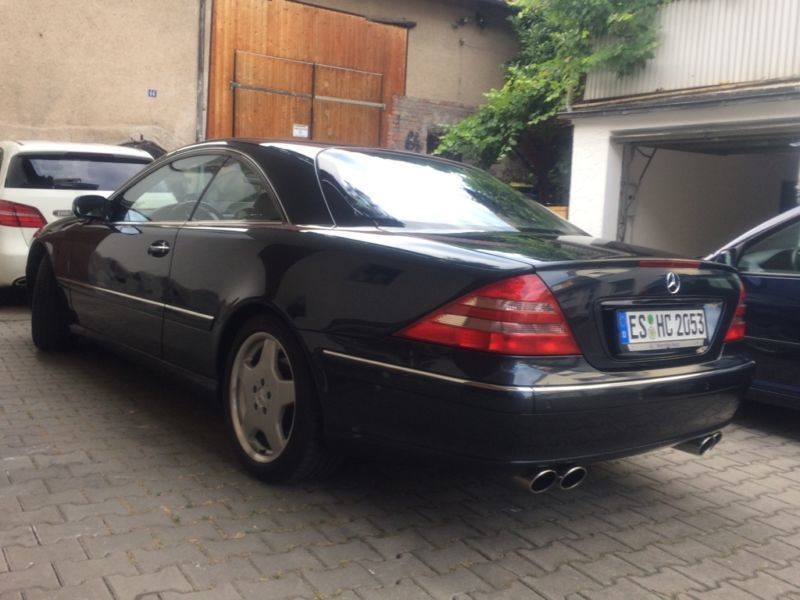 verkauft mercedes cl500 gebraucht 2001 km in neckartailfingen. Black Bedroom Furniture Sets. Home Design Ideas