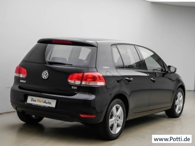 verkauft vw golf vi 1 6 tdi team pdc t gebraucht 2010. Black Bedroom Furniture Sets. Home Design Ideas