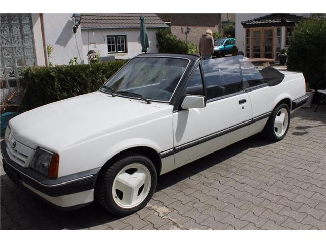 verkauft opel ascona cabrio hammond an gebraucht 1985. Black Bedroom Furniture Sets. Home Design Ideas