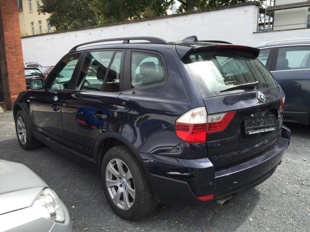 verkauft bmw x3 gebraucht 2007 km in hanau. Black Bedroom Furniture Sets. Home Design Ideas