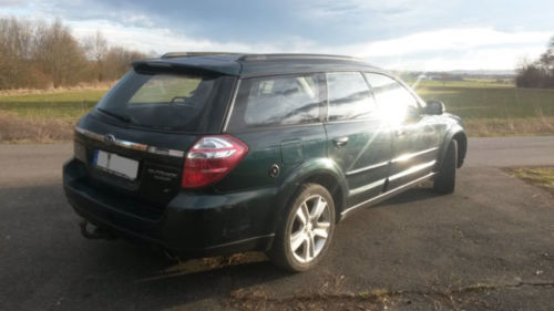 verkauft subaru outback 2 5 active gebraucht 2007 km in llingen. Black Bedroom Furniture Sets. Home Design Ideas