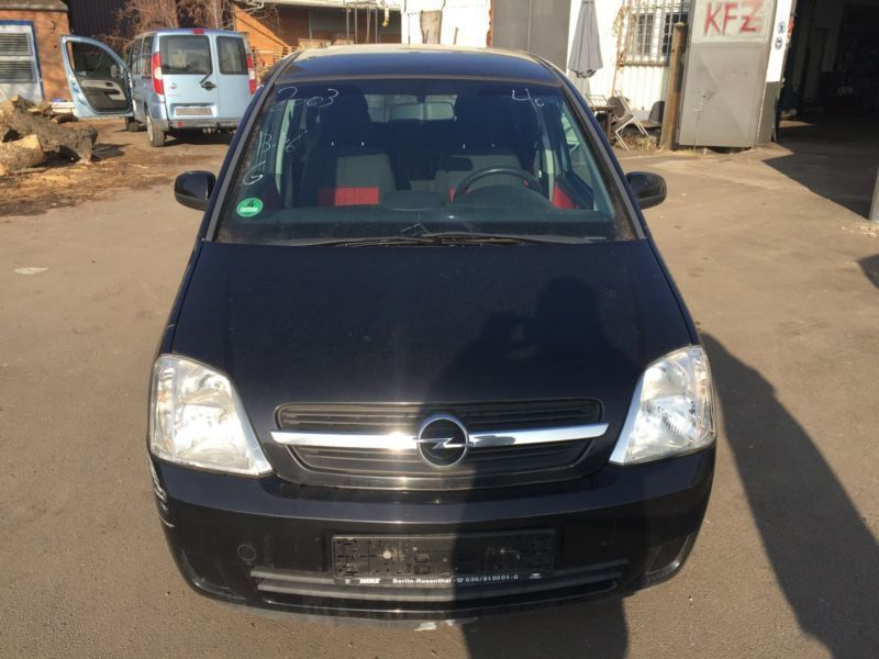 verkauft opel meriva 1 6 16v easytronic gebraucht 2003 km in berlin. Black Bedroom Furniture Sets. Home Design Ideas