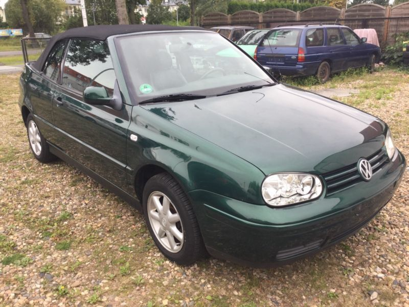 verkauft vw golf cabriolet cabrio 2 0 gebraucht 2000 km in ense. Black Bedroom Furniture Sets. Home Design Ideas