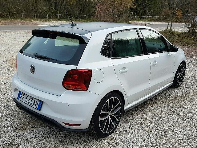 gebraucht gti 1 8 tsi blue motion technology dsg vw polo 2015 km in terlan. Black Bedroom Furniture Sets. Home Design Ideas