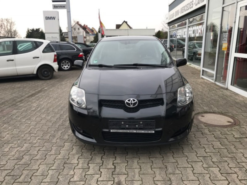 verkauft toyota auris d cat gebraucht 2007 km in halle saale. Black Bedroom Furniture Sets. Home Design Ideas