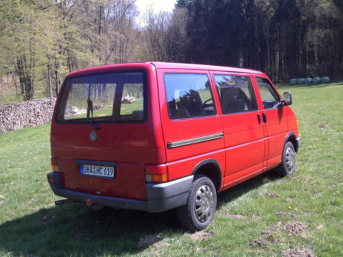 verkauft vw t4 kombi gebraucht 1991 km in wieda. Black Bedroom Furniture Sets. Home Design Ideas