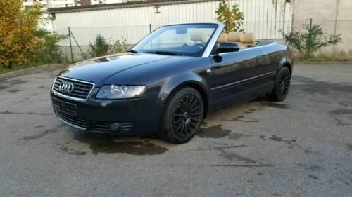 verkauft audi a4 cabriolet 1 8t gebraucht 2005 km in augsburg. Black Bedroom Furniture Sets. Home Design Ideas