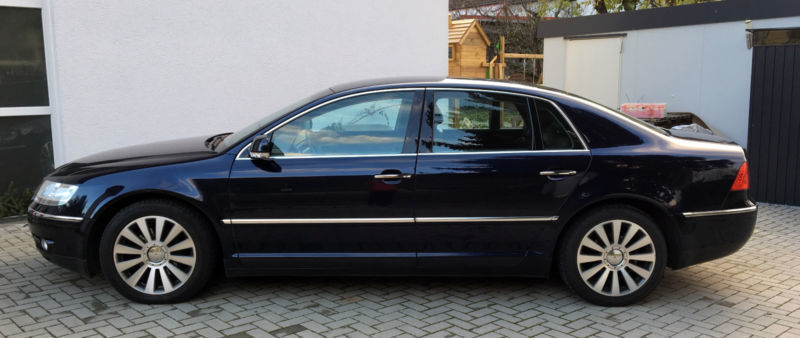 gebraucht v6 vollausstattung vw phaeton 2003 km in schwerin. Black Bedroom Furniture Sets. Home Design Ideas