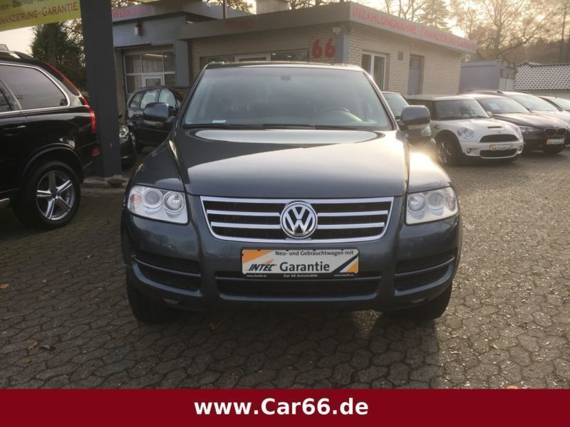 verkauft vw touareg v6 tdi leder k gebraucht 2005 km in buxtehude. Black Bedroom Furniture Sets. Home Design Ideas