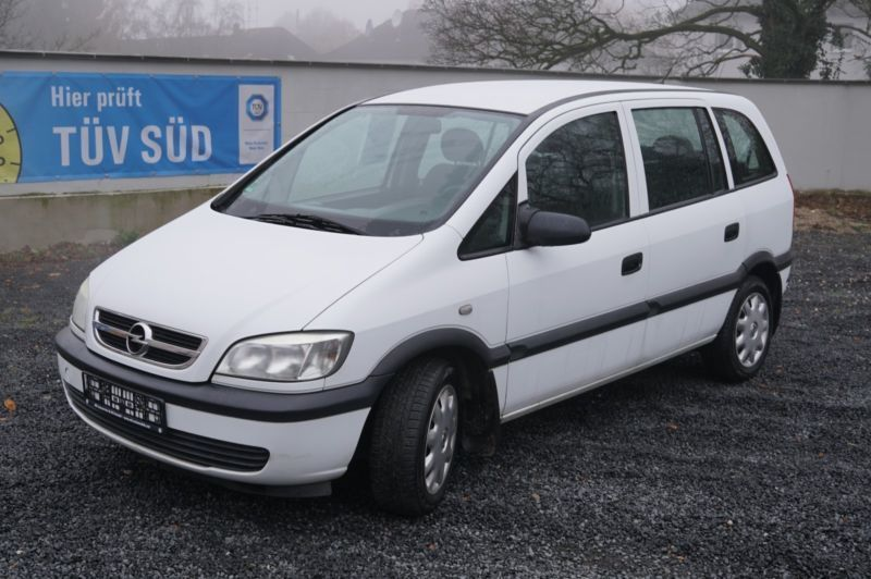 verkauft opel zafira 1 6 cng njoy gebraucht 2004 km in l denscheid. Black Bedroom Furniture Sets. Home Design Ideas