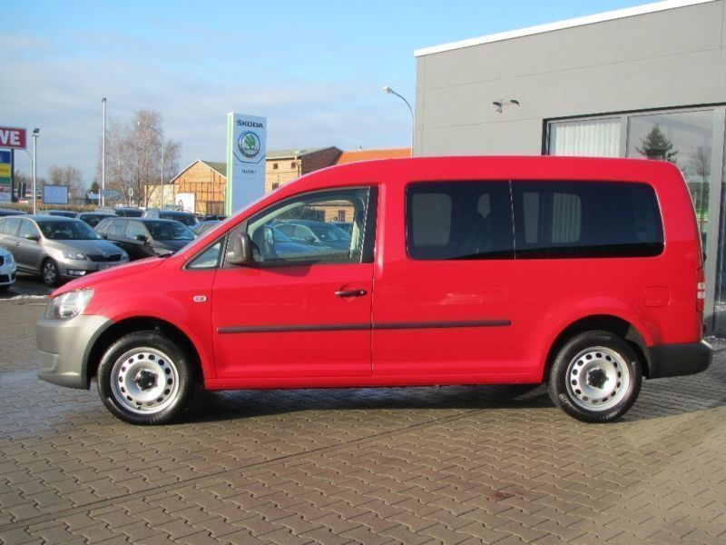 verkauft vw caddy maxi 2 0 tdi life te gebraucht 2010 km in wuppertal. Black Bedroom Furniture Sets. Home Design Ideas