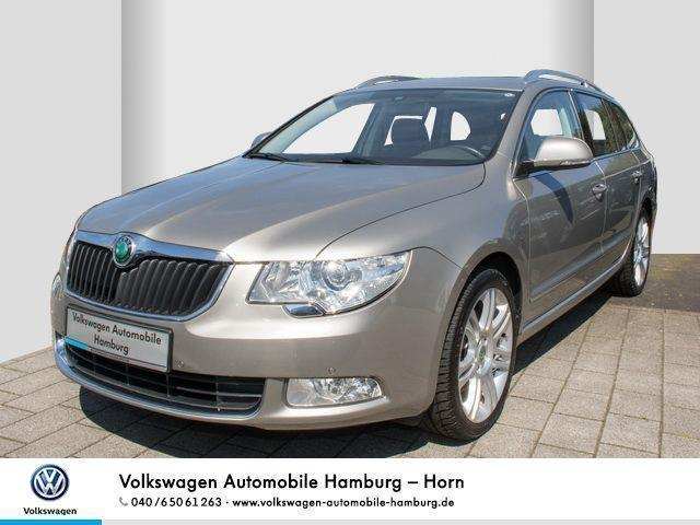verkauft skoda superb combi 2 0 tdi ds gebraucht 2013. Black Bedroom Furniture Sets. Home Design Ideas