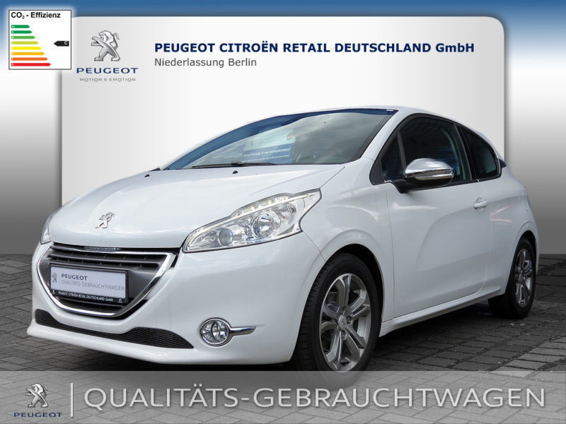 verkauft peugeot 208 120 vti allure gebraucht 2013 km in alfter. Black Bedroom Furniture Sets. Home Design Ideas
