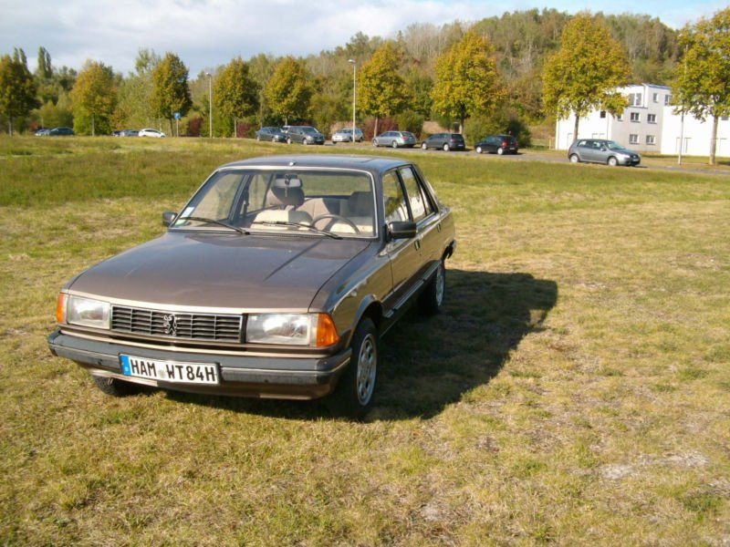 verkauft peugeot 305 gt mit h zulassung gebraucht 1984 km in hamm. Black Bedroom Furniture Sets. Home Design Ideas
