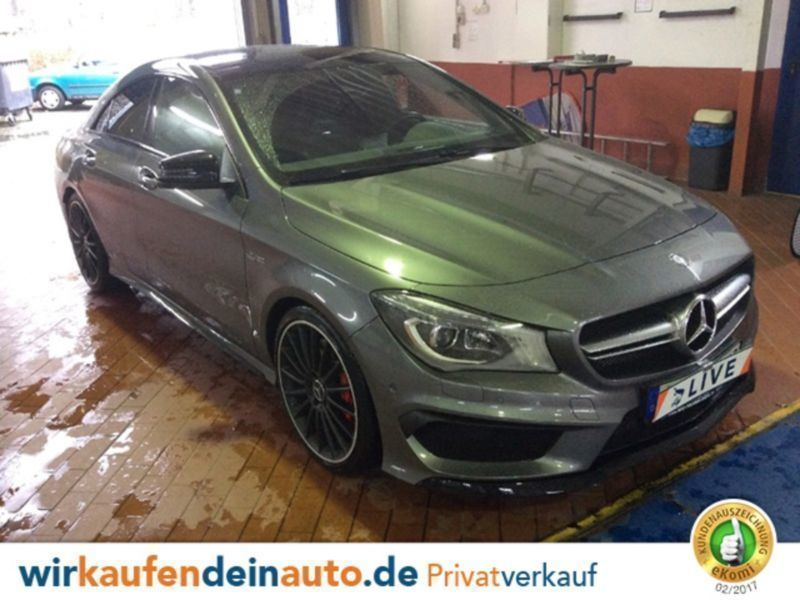 verkauft mercedes cla45 amg cla klasse gebraucht 2014 km in k ln. Black Bedroom Furniture Sets. Home Design Ideas