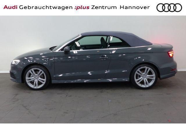 Gebraucht Audi A3 Cabriolet Sport 1 5 Tfsi S Line Tronic Leder Led