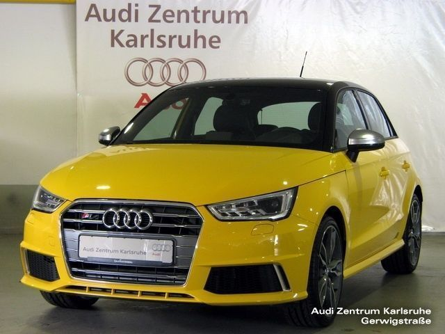 verkauft audi s1 sportback 2 0 tfsi qu gebraucht 2015 km in karlsruhe. Black Bedroom Furniture Sets. Home Design Ideas