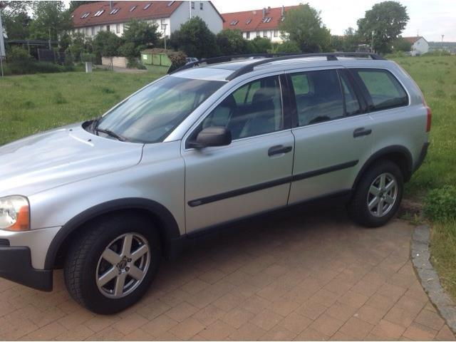 verkauft volvo xc90 d5 automatik gebraucht 2004 km in amberg. Black Bedroom Furniture Sets. Home Design Ideas
