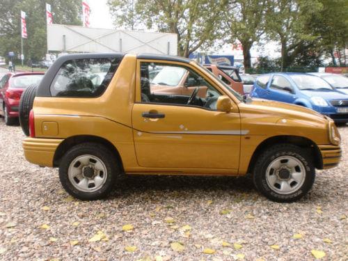Verkauft Suzuki Grand Vitara Cabrio 2 Gebraucht 2001 137000 Km