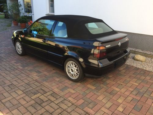 verkauft vw golf cabriolet gebraucht 2001 km in baruth mark. Black Bedroom Furniture Sets. Home Design Ideas