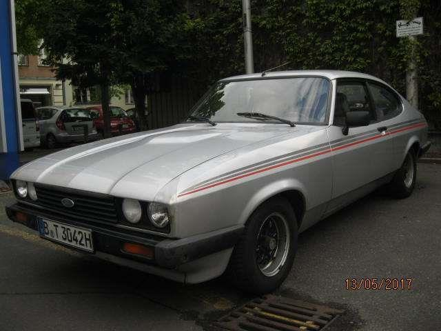 gebraucht gt ford capri 1983 km in berlin autouncle. Black Bedroom Furniture Sets. Home Design Ideas