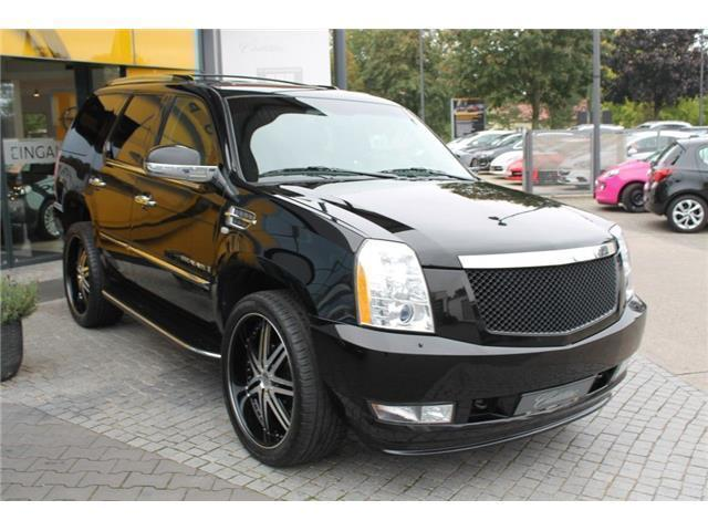 verkauft cadillac escalade esv 6 2 v8 gebraucht 2009. Black Bedroom Furniture Sets. Home Design Ideas