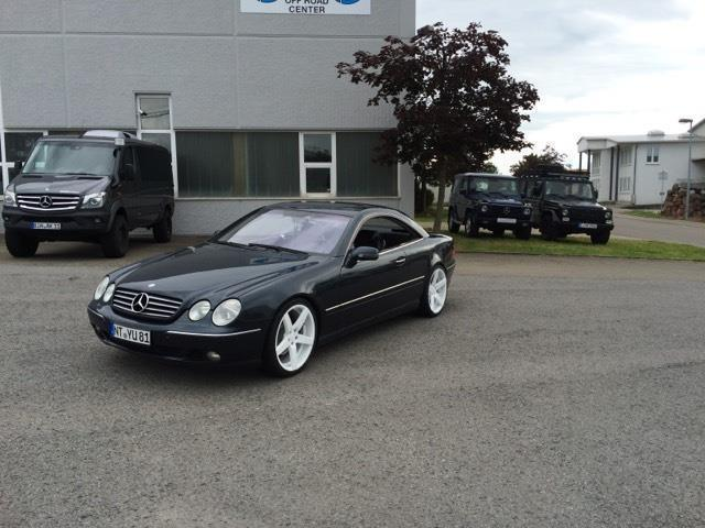 verkauft mercedes cl500 gebraucht 2000 km in. Black Bedroom Furniture Sets. Home Design Ideas