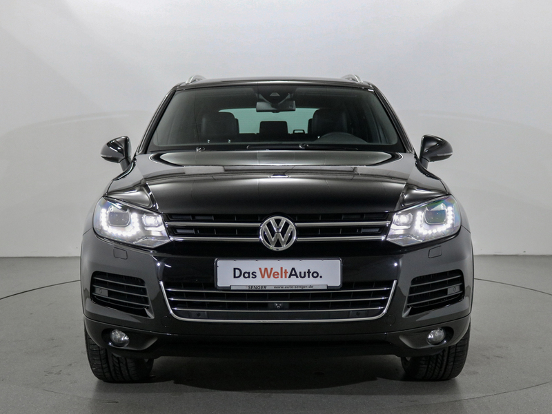 verkauft vw touareg 3 0 v6 tdi navi bi gebraucht 2013 km in rheine. Black Bedroom Furniture Sets. Home Design Ideas