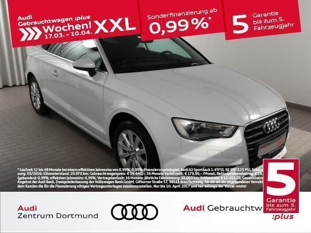 gebraucht Audi A3 Cabriolet 1.4TFSI S tronic/XEN/NAV+ (Navi Xenon Ei