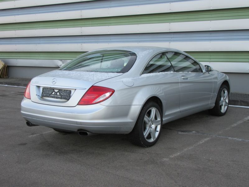 verkauft mercedes cl500 cl coupe gebraucht 2008 km in celle. Black Bedroom Furniture Sets. Home Design Ideas
