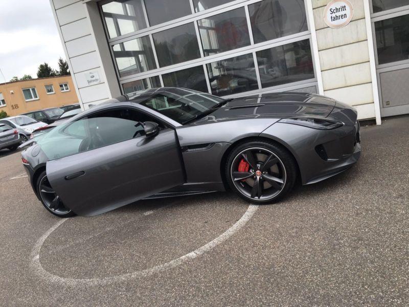 verkauft jaguar f type r coupe aut gebraucht 2016 km in f rth. Black Bedroom Furniture Sets. Home Design Ideas