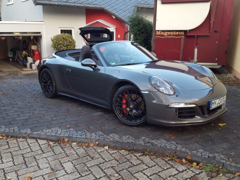 verkauft porsche 991 991 gts cabrio n gebraucht 2015 km in soest. Black Bedroom Furniture Sets. Home Design Ideas