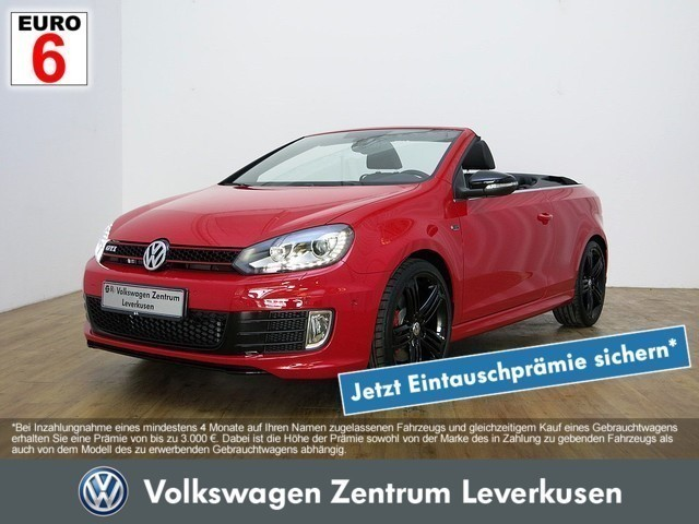 verkauft vw golf cabriolet vi gti last gebraucht 2016 20 km in leverkusen. Black Bedroom Furniture Sets. Home Design Ideas