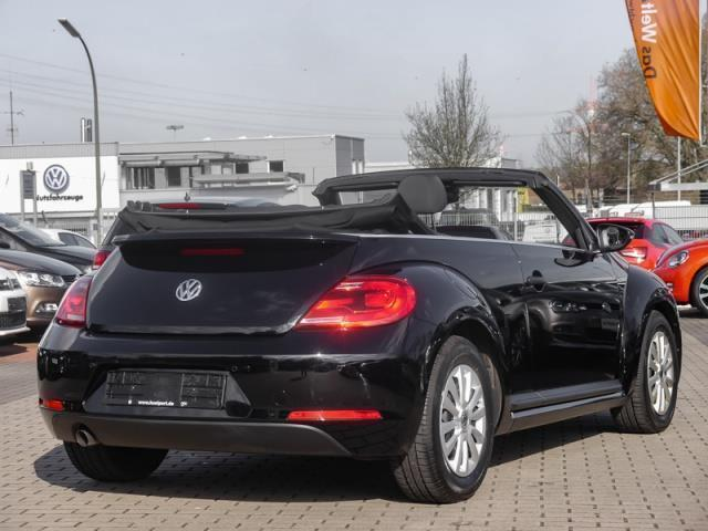 verkauft vw beetle cabriolet 1 2 tsi c gebraucht 2015. Black Bedroom Furniture Sets. Home Design Ideas
