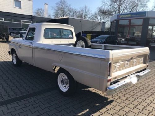 verkauft ford v8 f250 f100 pickup 352 gebraucht 1966 km in ludwigshafen. Black Bedroom Furniture Sets. Home Design Ideas