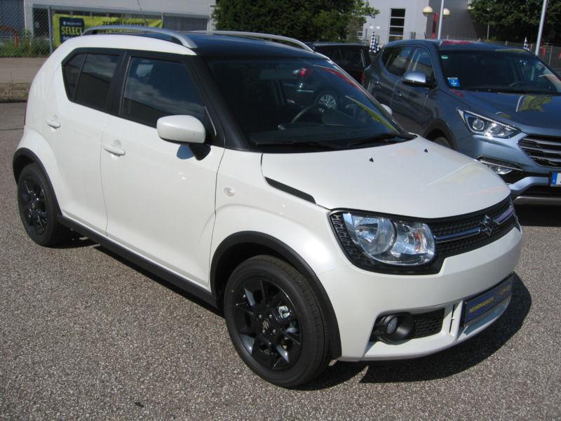Gebraucht Suzuki Ignis 12 2WD GL Dach Schwarz